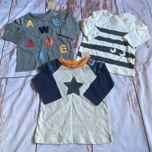 First Impressions boys long sleeve shirt lot-3-6M